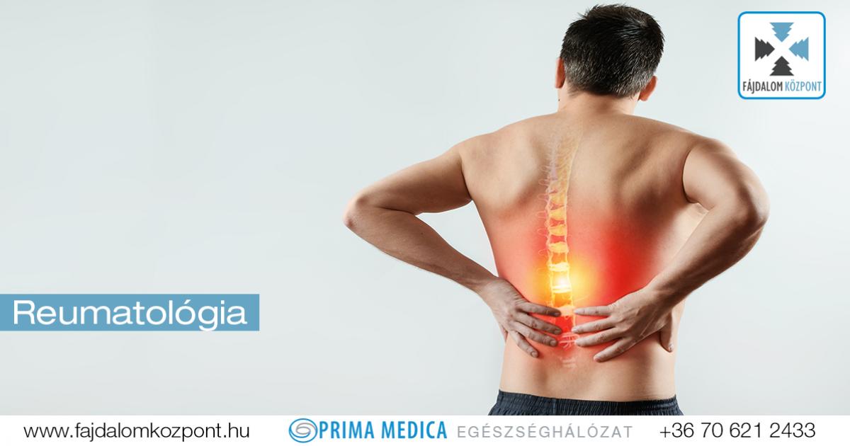 reumatológia ízületi kezelés