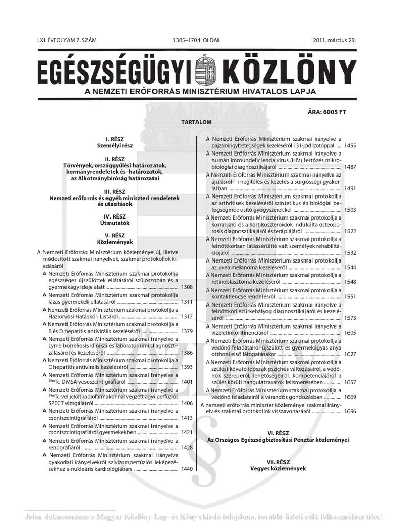 diagnosztikai algoritmus a kötőszövet szisztémás betegségeihez)