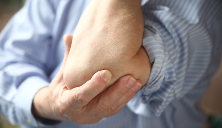 dudor fájdalom a könyökízületekben