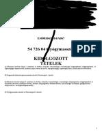 EGYETEMI DOKTORI (Ph.D.) ÉRTEKEZÉS. dr. Sághy Éva