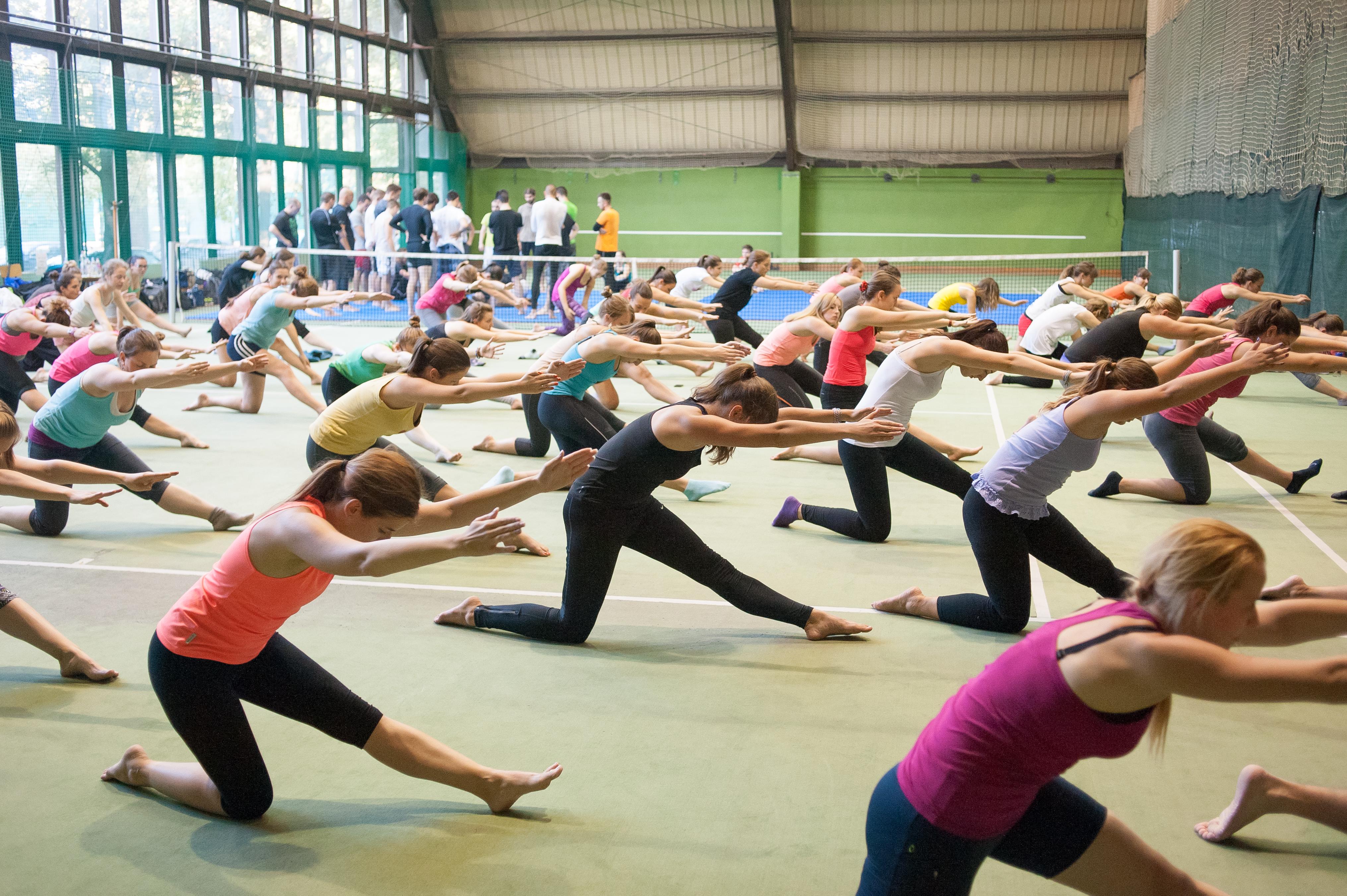 közös aerobik