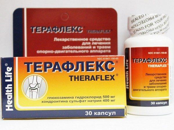 glükozamin-kondroitin és teraflex
