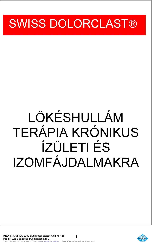 sokkhullám kezelés ízületek áttekintése)