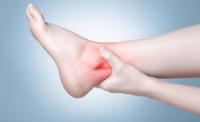 duzzadt bokaízületek a lábak