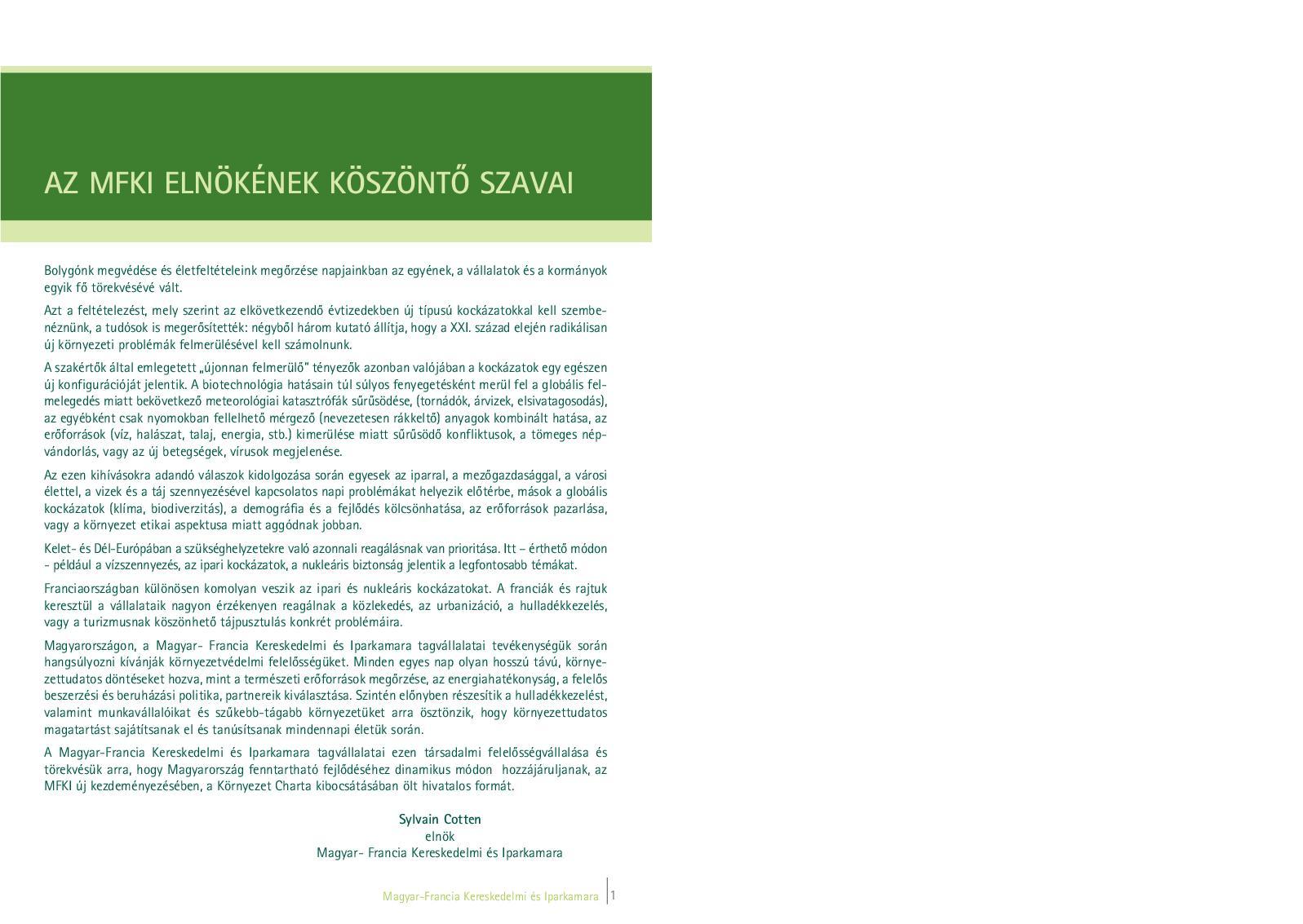közös kezelési brosúrák