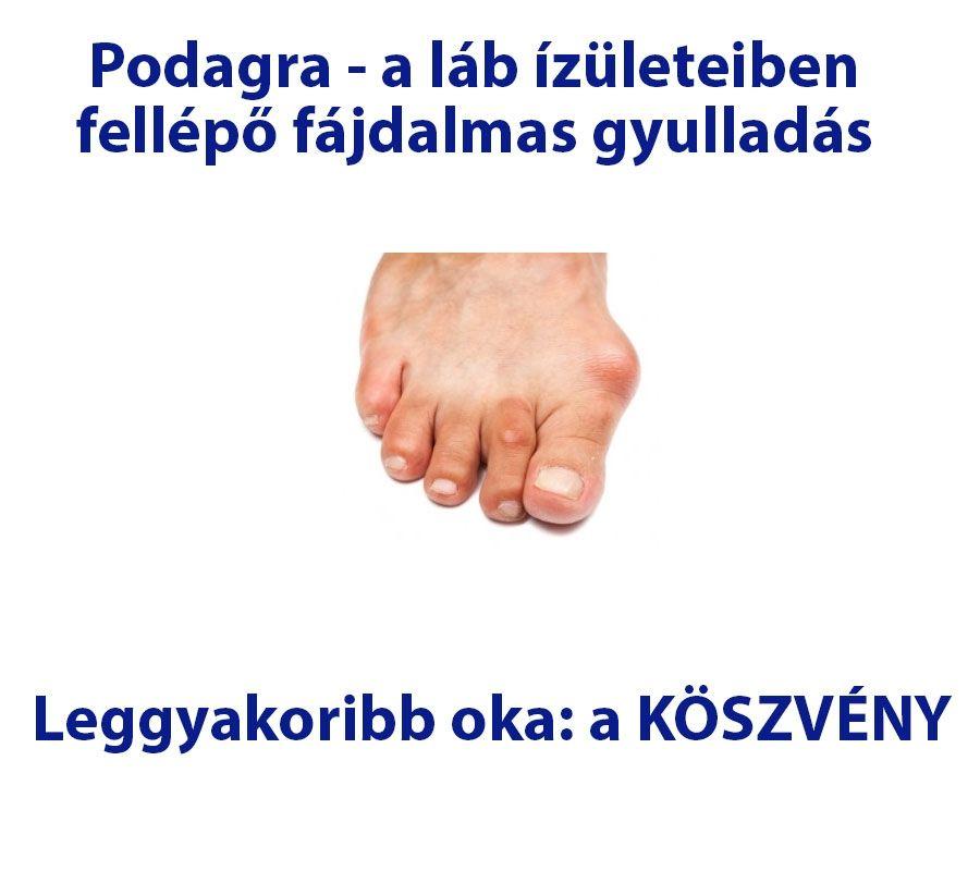 a láb ízületeiben fellépő fájdalom oka