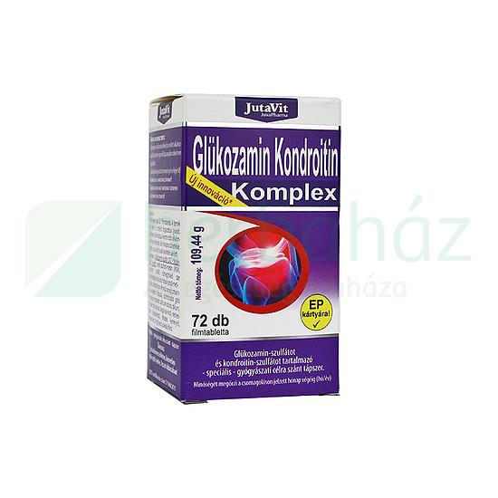 Jutavit Glükozamin+Kondroitin+MSM tabletta 72 db