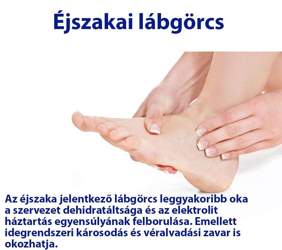 lábgörcsök és ízületi fájdalmak ízületek fáj a jess