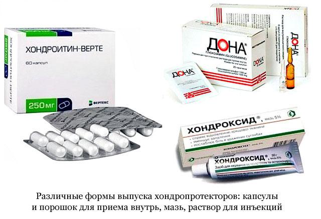 kondroprotektív készítmények ízületek intramuszkuláris kezelésére)