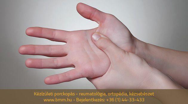 hogyan kezeljük a kézízület súlyosságát