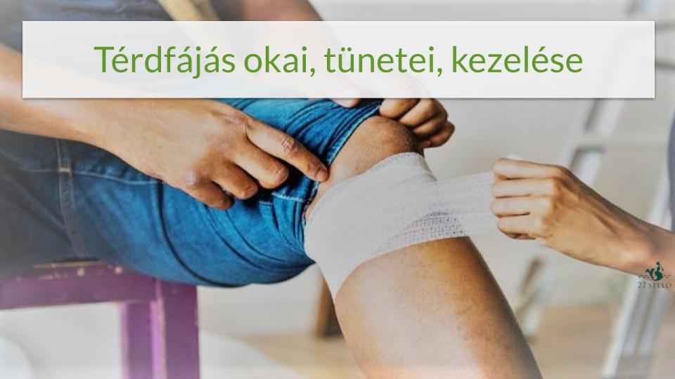 fájdalom a térdízület kezelése)