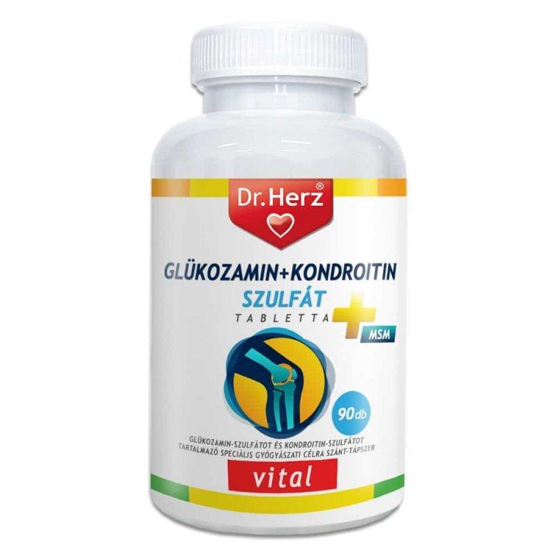 Glükozamin, kondroitin, MSM