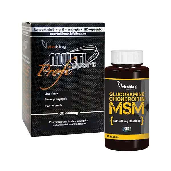 Glükózamin és kondroitin tartalmú hatékony készítmények - Sérülések