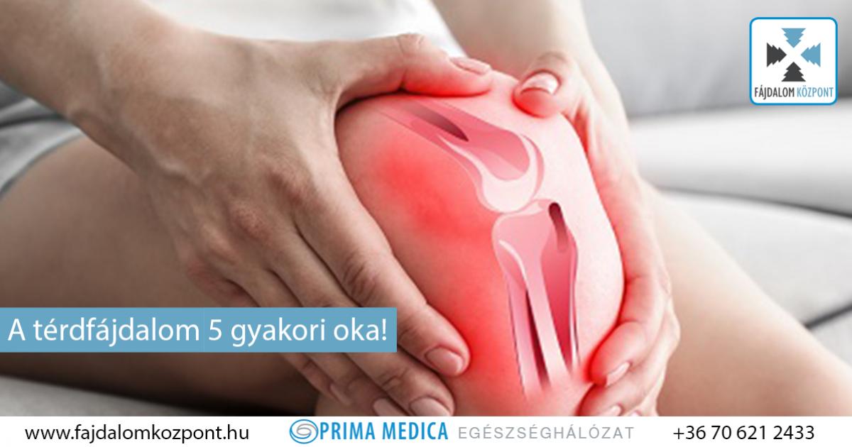 térdfájdalom fertőzést okoz
