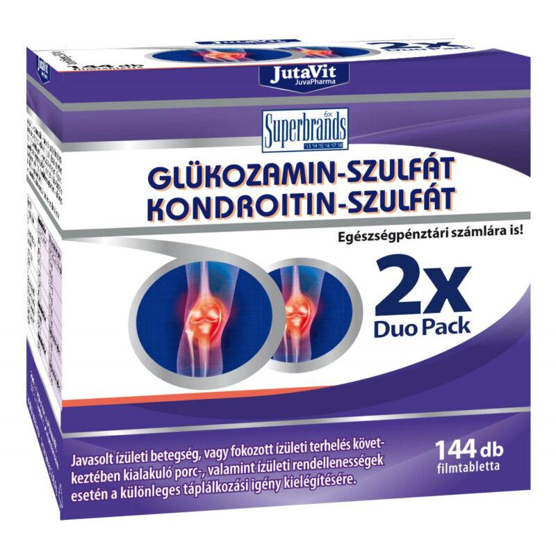 kondroitin-glükozamint tartalmazó gyógyszerek)