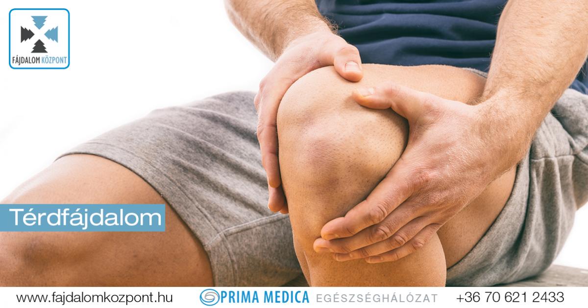 fájó térdízület és fájdalom)