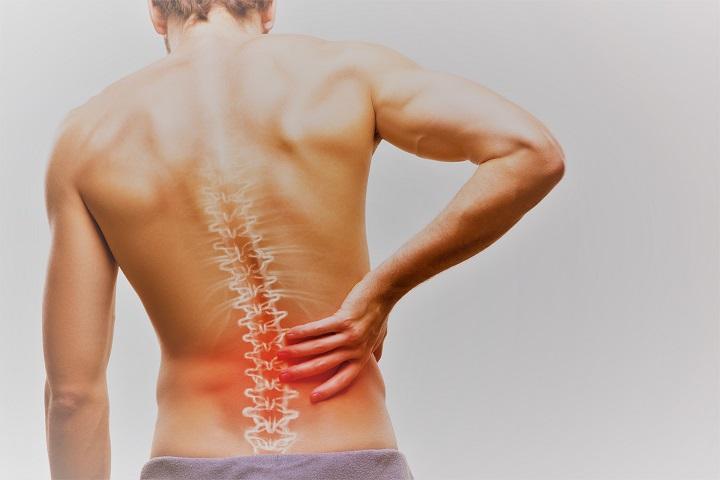 fájdalom a gerinc ízületeiben