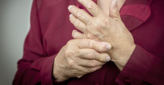 gyulladt ízület az ujjak kezelésénél)