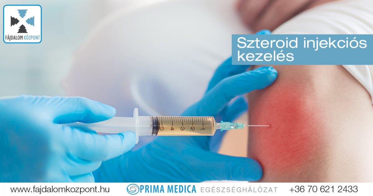 injekciók a térdben a diprospan fájdalomtól)