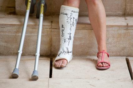 láb metatarsális gyulladása)