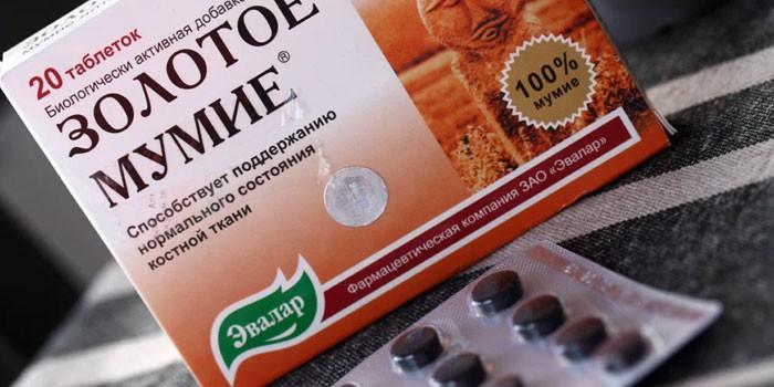 múmia izületi fájdalom receptje