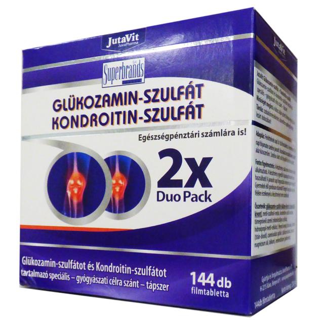 kondroitin-glükozamint tartalmazó termékek)