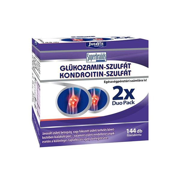 glükózamin-kondroitin artrózis esetén)