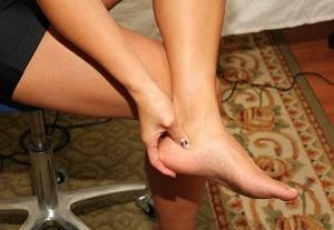 boka fájdalom járáskor